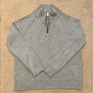 J. Crew Half Zip Sweater 6 Boy EUC